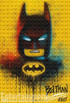 Entertainment Weekly premiered some brand new posters for The LEGO Batman Movie today: Gotham City is getting a graffiti-style makeover. Just a few weeks before The LEGO Batman Movie swoops into th… Lego Batman Party, Lego Batman Birthday, Superhero Party, Boy Birthday, Birthday Parties, Batman Movie 2017, Lego Movie, Joker Batman, Batman Art