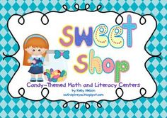 So cute and so excited to use it in my classroom.  It is filled with candy themed games and activities for literacy and math.  Perfect for 1st or 2nd grade. What kid wouldn't love this? It's candy themed!