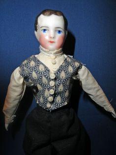 Small China Boy Doll
