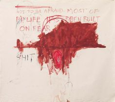 Tracey Emin,Exorcism of the Last Painting I Ever Made (Detail)