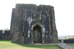 Caerphilly Castle outer gatehouse
