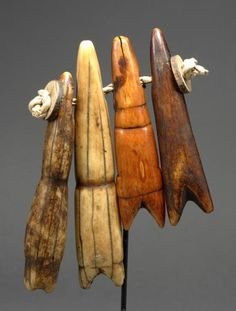Africa - Pendants from the Mossi people of Burkina Faso. Ivory