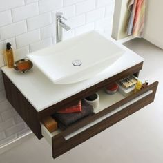 Ultra Equity wall mounted vanity unit