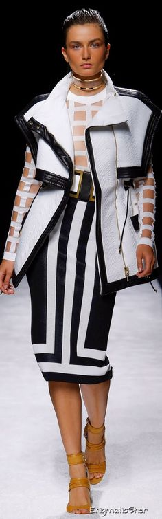Balmain Wins for Best Casting at Fashion Month Thus Far