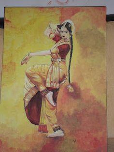 Indian classic dance- Bharatanatyam.