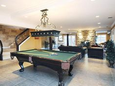 Game or rec room with a pool table 14 Ambriance Drive, Burr Ridge, IL Luxury Real Estate Property - MLS# 08260891 - Coldwell Banker Previews International