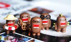 Mr. Mustachio's Domo Brigade (my mini Domos <3)