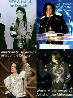 The greatest awarded artist of all time!!! | Curiosities and Facts about Michael Jackson ღ by ⊰@carlamartinsmj⊱