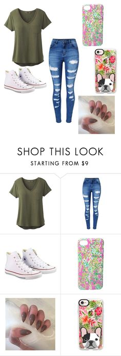 """""""#beyou pick a phone case"""" by bracie-jaycie-brady on Polyvore featuring prAna, WithChic, Converse, Lilly Pulitzer and Casetify"""