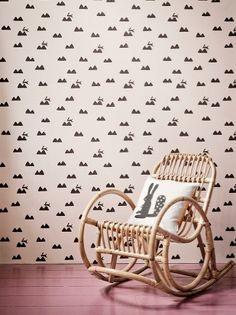 Rabbit Cushion - Grey