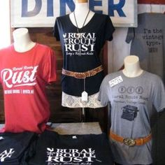 Get custom T-shirts for your boutique, brand, school or events!