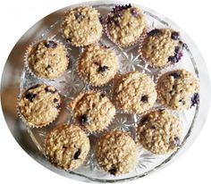 Simple, delicious and not too sweet, these muffins are great for breakfast or snack time!