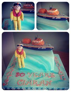 RNLI Wicklow Lifeboat Cake, Saving lives at Sea