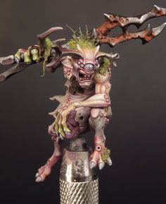 Death Guard Colour Scheme - Flesh & Moss
