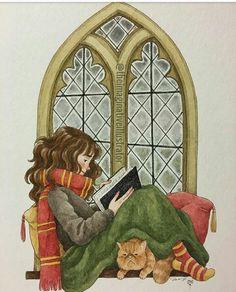 Hermione Granger y Ron Weasly en el Cuartel General de la Orden del Fenix en Grinmauld Place en Harry Potter y las Reliquias de la muerte Parte 1