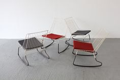 Flamingo Rocking Chair by Pastoe, designed by Cees Braakman.