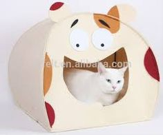 Resultado de imagen para manualidades en fieltro de perros y gatos