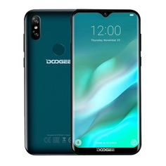 DOOGEE Y8 6.1 Inch HD Waterdrop Screen Android 9.0 3GB RAM 16GB ROM MT6739 Quad Core 4G Smartphone - Luminous black Quad, Wi Fi, Bluetooth, Radios, Software, Fingerprint Recognition, Yes Band, Smartphones For Sale, Smartphone