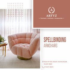 The perfect blend of functionality and exceptional aesthetics for your living room.  Get your hands on spectacular armchairs from the house of Artyz!  #homedecor #armchair #livingroomideas #modernchairs #interiordesign #interiordesigninspiration Interior Design Inspiration, Modern Chairs, You Got This, Armchair, Living Room, House, Furniture, Home Decor, Modern Adirondack Chairs