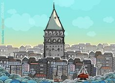 POP UP BOOK for Istanbul by Burcu Gunister