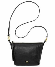 Fossil Sydney Leather Crossbody Handbags   Accessories - Macy s c24ec54799720
