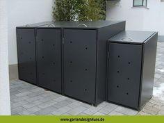 4USE Umweltservice & Vertrieb - Mülltonnenbox Müllboxens Foto. #muelltonnenbox