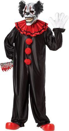 adult last laugh evil clown costume party city sabino