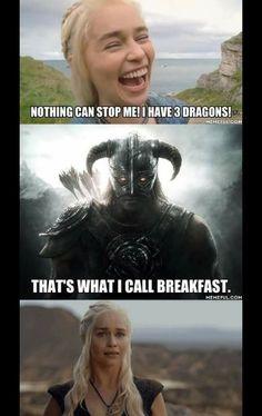When Game of Thrones takes on Skyrim