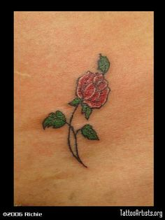 Pics Photos - Small Tribal Rose Tattoo Tabatha Tribal Rose Tattoos, Leaf Tattoos, Small Rose, Photos, Pictures