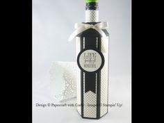 Wine Bottle Box - Gift Bag Punch Board - YouTube