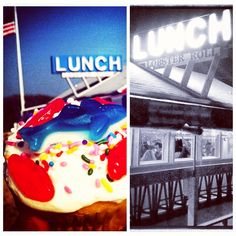 day and night at Lunch Lobster Roll Amagansett Rowland Lobster Roll Amagansett Birthday Candles, Restaurants, Rolls, Lunch, Spaces, Night, Bread Rolls, Lunches, Restaurant