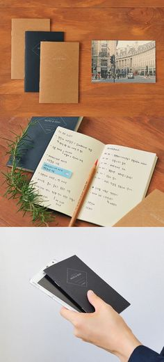 Get into a habit of writing notes with Monolike Mini Pocket Note! With a size slightly bigger than the passport, it's an ideal note to carry it in your pocket to write quick notes and memos at anytime! Office Organisation, Passport, Stationery, Notes, Writing, Pocket, Hospitality, Ideas, Paper