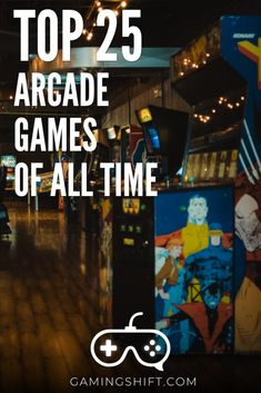 If you are looking to play the best arcade games but not sure what are the best, here are the top 25 arcade games of all time. If by any chance you are not familiar with the term you can find out what arcade games are in the post as well. All Video Games, Video Game Rooms, Video Games Funny, Martial Arts Games, Mission Game, Alien Ship, Gamers Anime, Classic Board Games, Retro Arcade