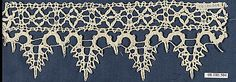 Fragment of bobbin lace, Italian 16th century