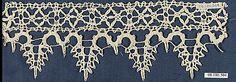 Fragment of bobbin lace, Italian 16th century