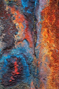 diamonds and rust Patterns In Nature, Textures Patterns, Rust Paint, Peeling Paint, Action Painting, Rusty Metal, Beautiful Textures, Textured Background, Art Photography