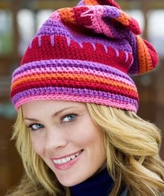 Este hermoso gorro, lo podrás combinar con cualquier prenda de tu guardarropa, o lo puedes tejer con los colores de tu preferencia.