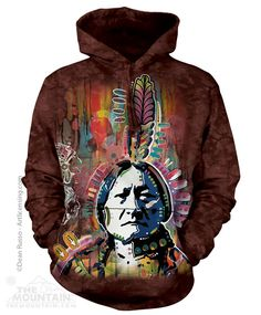 Full Moon Wolf Native Spirit Unisex Crewneck Fashion Quality Brand New Sweater