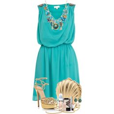 Sally Sells Seashells... Entry #1, created by nessiecullen2286 on Polyvore