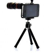 Cool 8 X Zoom Optical Telescope Camera Lens For iPhone 4 NEW