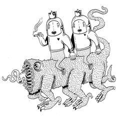 Les deux petits amoureux de la vie sur leur toutou ! Il passerais bien en tatouage !  Je vous biz .... . . #paulaulart #draw #drawings #drawing #draws #drawingoftheday #illustration #ink #woman #dessin #dessins #dessinateur #art #artwork #arte #artist #artsy #artoftheday #arts #creation #flashtattoo #flash #girl#sketchbookmagazine #sketchs #sketchy #sketchers #sketchbook #sketchbooks #sketchers