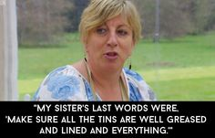 """When Sandy said this line and you thought that something horrible had happened to her sister.   The 25 Best Moments From """"The Great British Bake Off"""" 2015"""