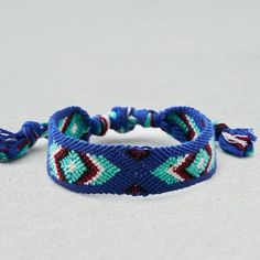 AE Turquoise & Blue Woven Bracelet ($4.97) ❤ liked on Polyvore featuring men's fashion, men's jewelry, men's bracelets, blue, mens turquoise bracelets, mens woven bracelets and mens leather braided bracelets