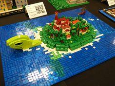 BRICKCON 2013 - Turtle Island   Flickr - Photo Sharing!