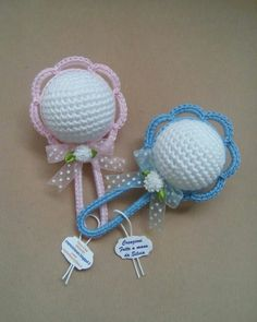 How To Make A Cute Crocheted Charm Babys Dummy – DIY Crafts Tutorial – Guidecentral. Guidecentral is a fun and visual way to discover DIY ideas learn new skills, meet amazing people who share your passions and even upload your own DIY guides. Crochet Bunny, Crochet For Kids, Crochet Summer, Crochet Gifts, Crochet Toys, Crochet Designs, Crochet Patterns, Crochet Bookmarks, Crochet Diagram