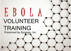 Ebola training for non-healthcare worker volunteers. Learning Theory, Volunteers, Health Care, Training, Student, Work Outs, Excercise, Onderwijs, Race Training