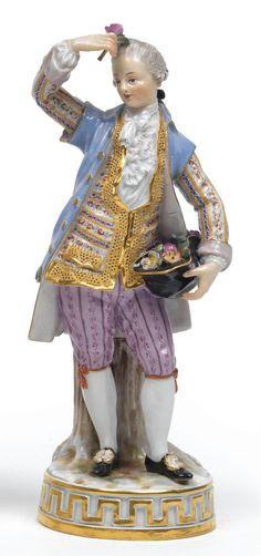 Meissen Porcelain Manufactory (Germany) —  Porcelain Figurine,1770  (598×1273)