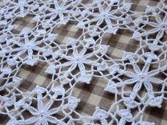 モチーフつなぎ☆32 Crochet Motif, Crochet Doilies, Knit Crochet, Baby Knitting Patterns, Crochet Patterns, Beautiful Crochet, Crochet Earrings, Crochet Blocks, Free Crochet