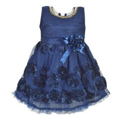 16376d16b5eb Wish Karo Baby Girls Net Party Wear Frock Dress - (fe2448nb): Amazon.in:  Clothing & Accessories