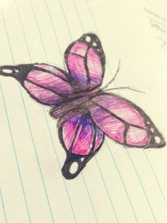 Drawing ideas - butterfly